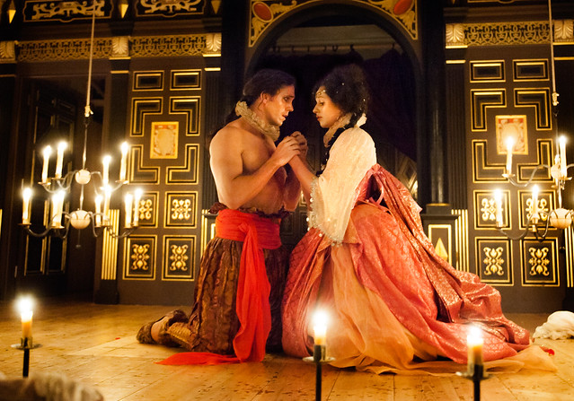 Ed Lyon and Susanna Hurrell in L'Ormindo © Stephen Cummiskey