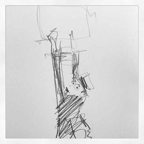 Harold Lloyd #longboard #sketch