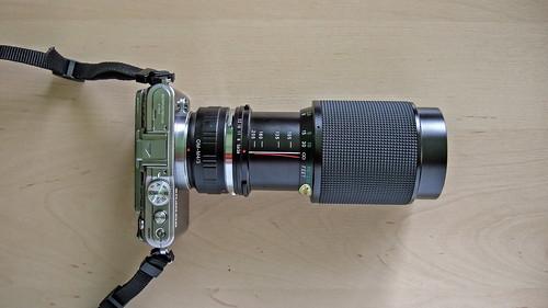 MyPenPL3+Vivitar75-205mm. F3.8 Macro