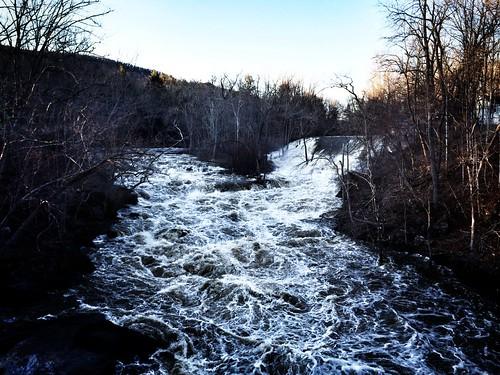 riverview kentct springthaw bullsbridge housatonicriver iphoneography