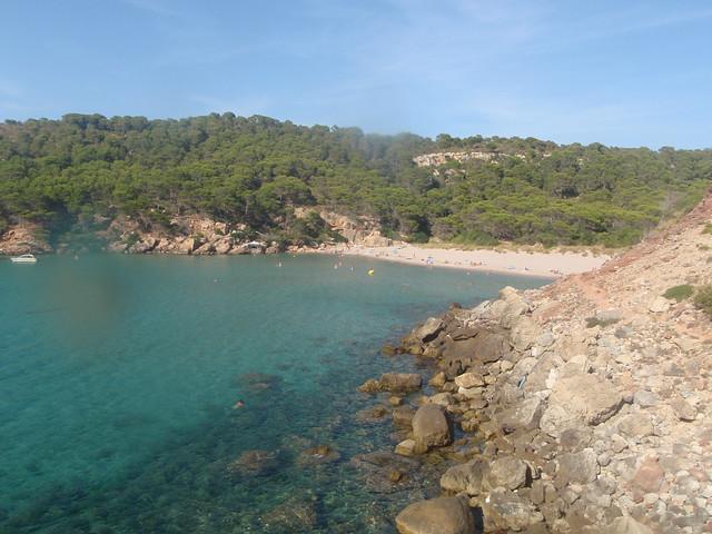 Cala d'Algeriens, 2nd beach. Landscapes menorca