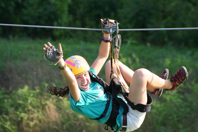 """Zip through """"Andy Guest"""" Shenandoah River State Park as of April 15, 2014"""