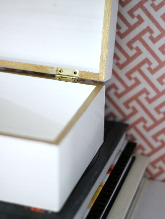 Hi Sugarplum | DIY Agate Lacquered Box