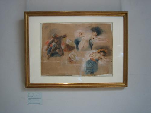 IMG_9000 - Study for La Mort de Sardanapale, Eugène Delacroix, Musée Delacroix, Paris, 2008