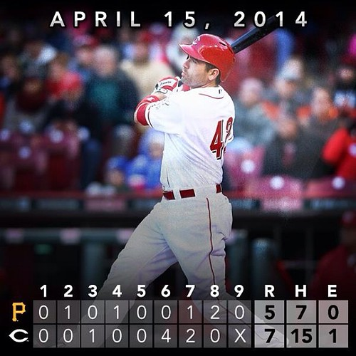 Reds vs Bucs • April 15th, 2014