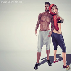 (AMD) Sweat Shorts for Her!
