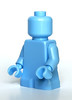 Lego bright light blue baby