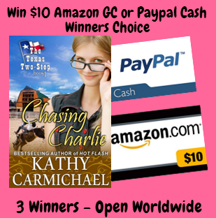 Chasing Charlie By Kathy Carmichael