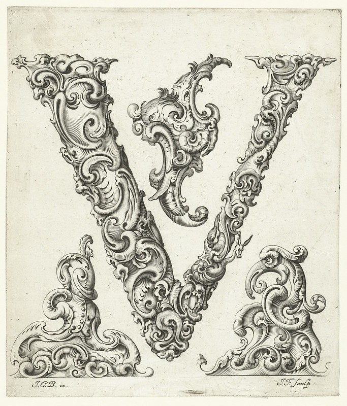 An Alphabet Of Organic Type Ca1650 The Public Domain Review
