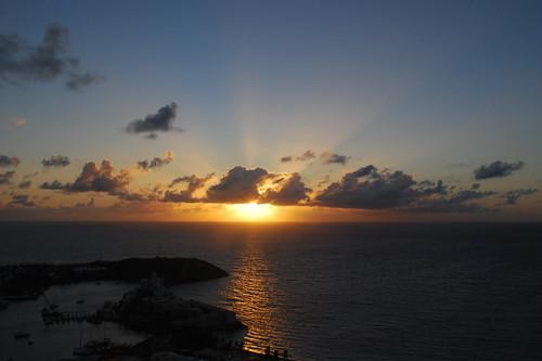 sunrise dawn stmartin stmaarten sxm dawnbeach oysterpond hopecottage hopevilla