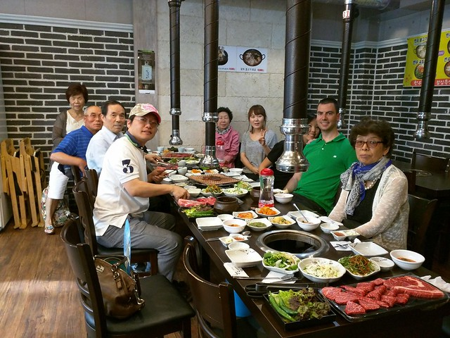 Family dinner at cousin's KBBQ place