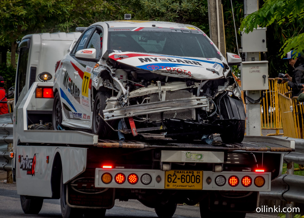 Accident Phuket race 2015