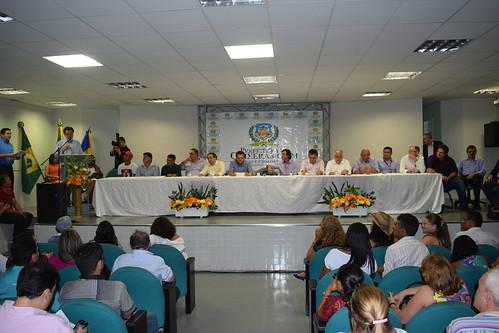 Visita do Ministro do Desenvolvimento Agrário à Quixeramobim