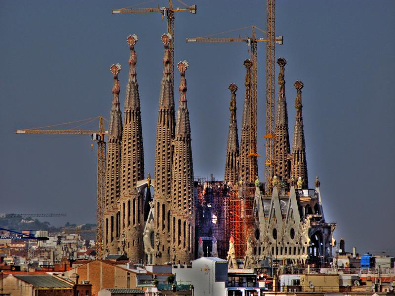 View of Sagrada Familia