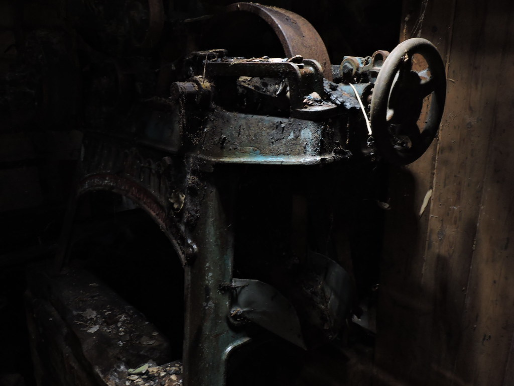 Burnt out Mill.