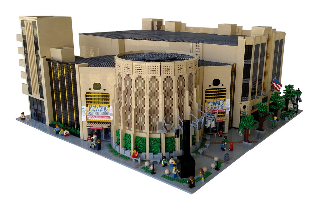 LEGO McWane Science Center (custom built Lego model)