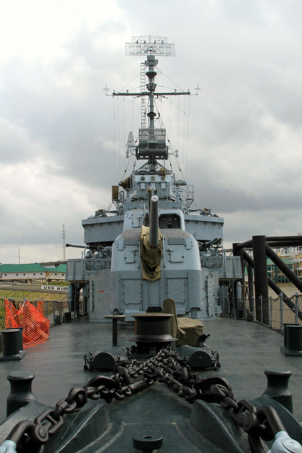 The Deck of the USS Kidd