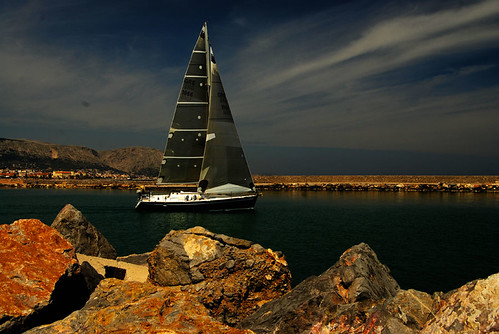 Sailboat. by olympic