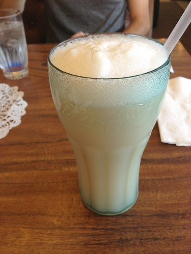 Egg Cream at Langer's