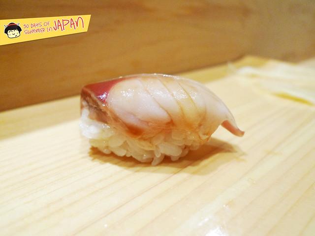Sushi Bar YASUDA in Tokyo - Mackerel