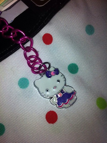purple hello kitty filofax charm