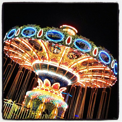 Summerfest Carnival Ride - Windsor, Ontario