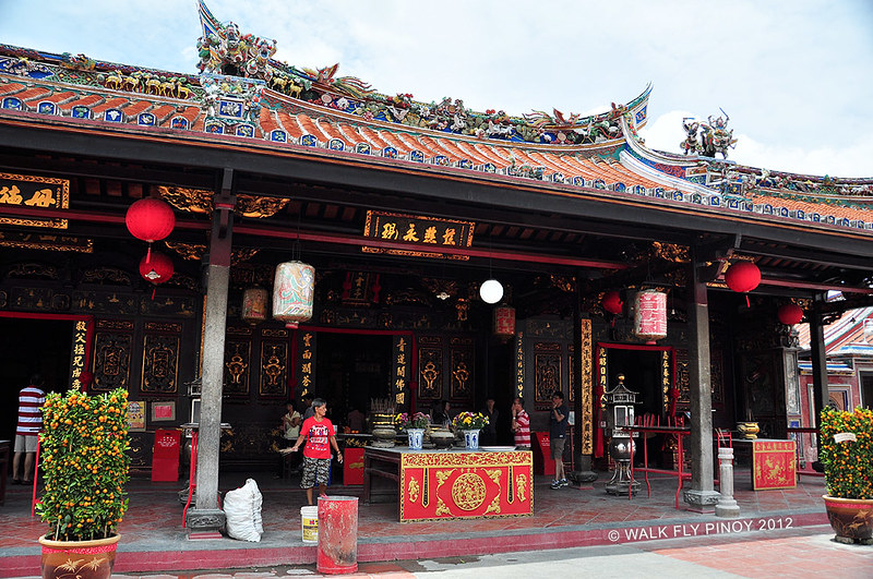 Cheng Hoon Teng Temple, Harmony Street, Malacca Old Town, Malaysia