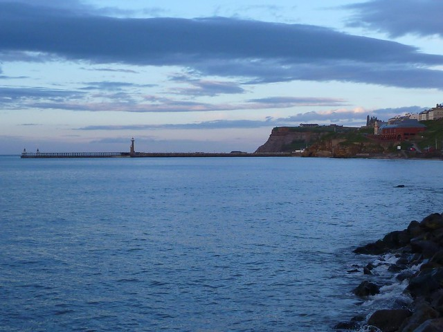 Whitby at dusk