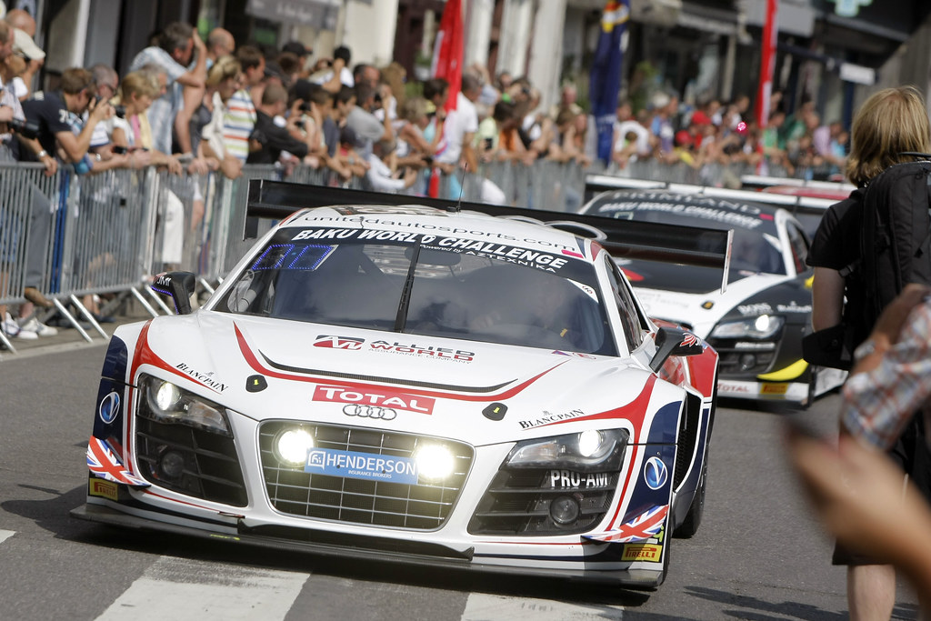 Spa 24 Hours 2013 - Wednesday - Spa Town and Audi photoshoot
