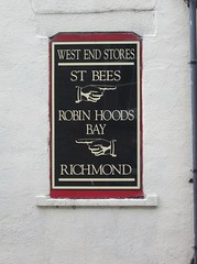 West End stores sign