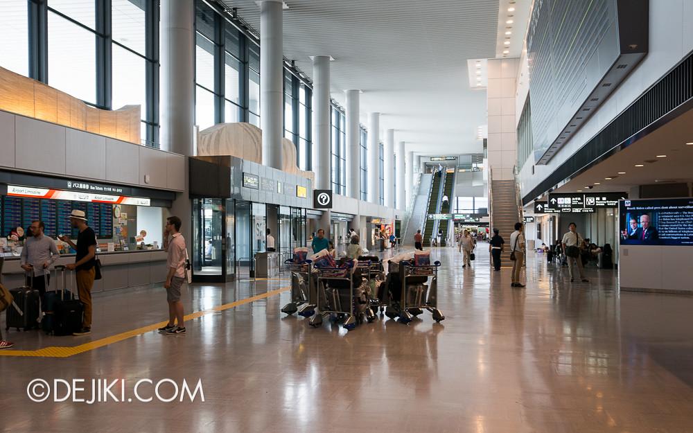 Narita Airport - Arrival Hall