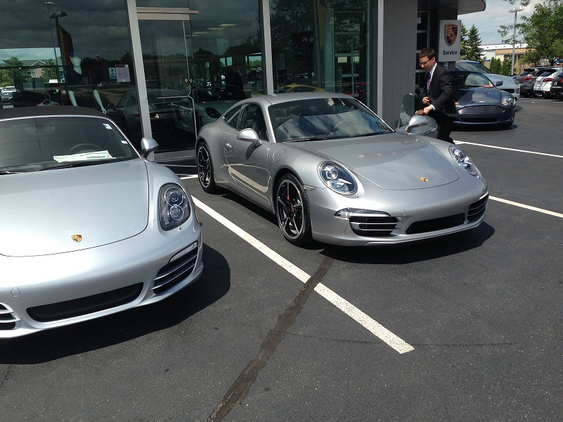 gt silver vs rhodium silver side by side shot page 1 porsche general pistonheads. Black Bedroom Furniture Sets. Home Design Ideas