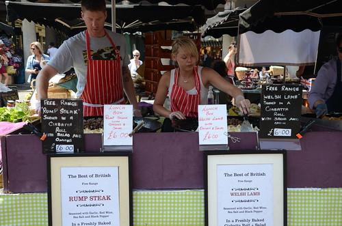 Covent Garden Market stall