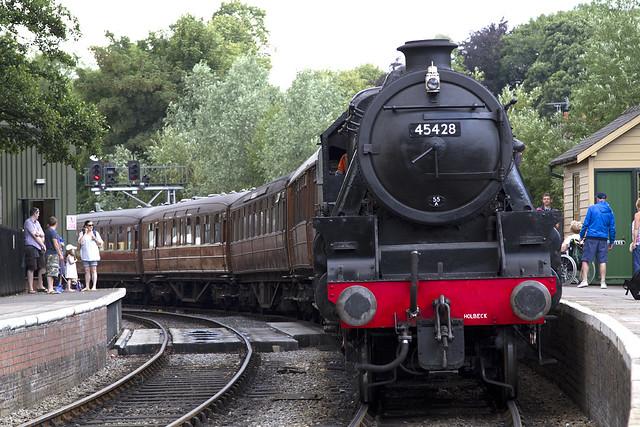 "NYMR Steam Engine 45428 ""ERIC TREACY"""