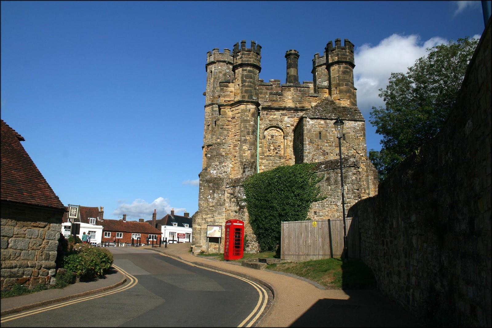 Battle, East Sussex The side of Battle Abbey