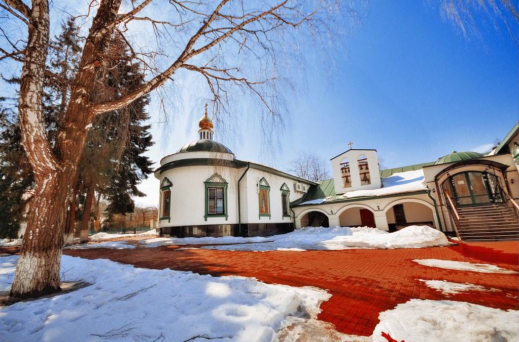 Ukraine, Kiev. Kitayevo Monastery.