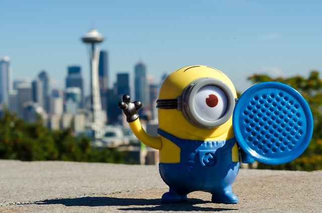Minion in Seattle