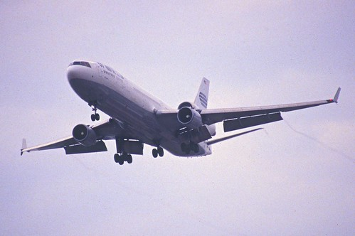 Aircraft (MD11) silhouette
