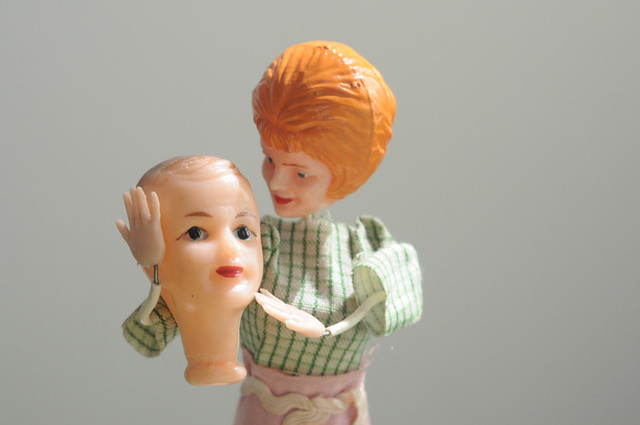 mother and son doll