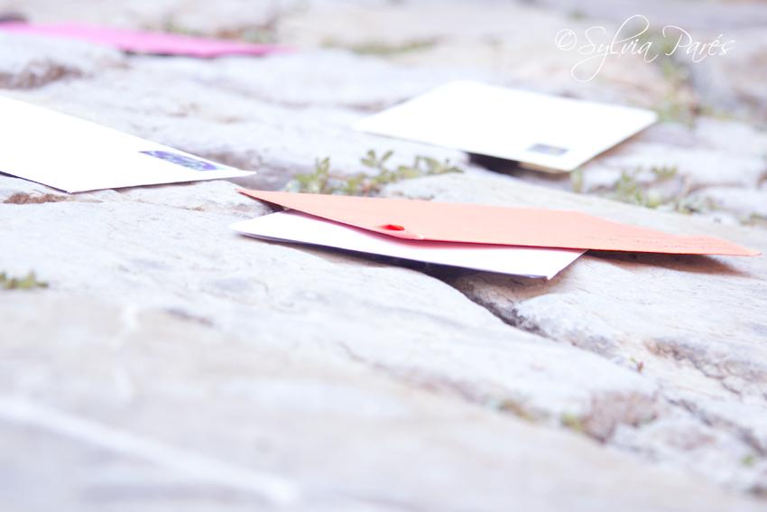 Cartas en el suelo