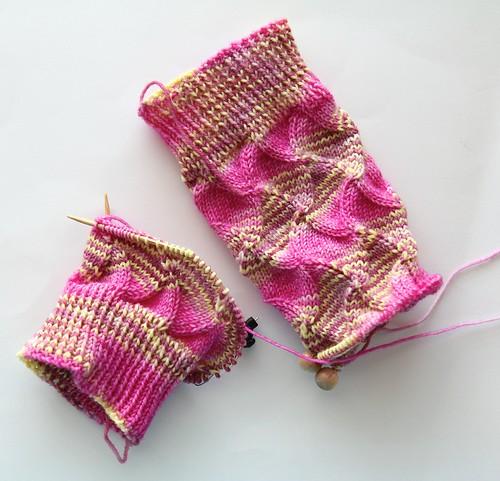 Fault Line Socks