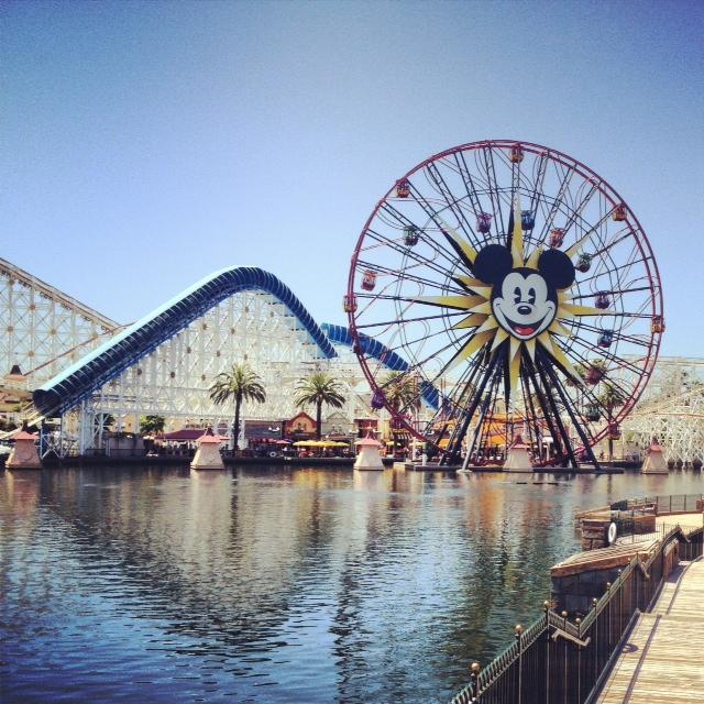 Paradise Pier Disneyland