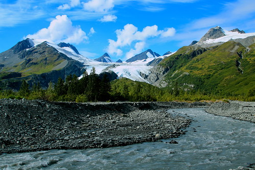 Worthington Glacier - Valdez, Alaska