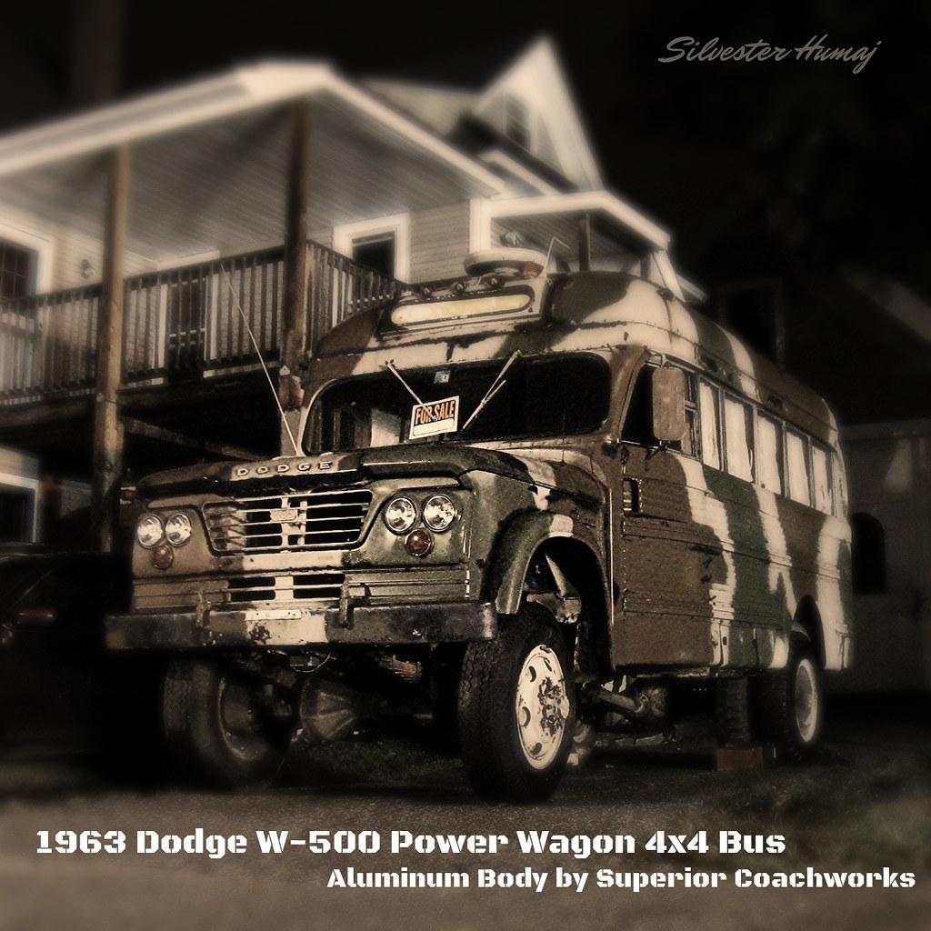fluidr 1963 dodge w 500 4x4 \