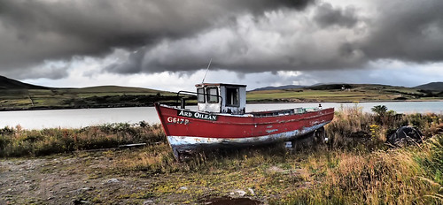 Photographing old boats in Ireland is my favorite thing!