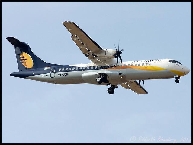 Jet Airways ATR-72 (VT-JCN)