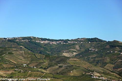Fontes vista do Miradouro de São Pedro - São João Baptista de Lobrigos - Portugal