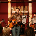 Diego Garcia and his band preview songs from 'Paradise' for an audience of WFUV Marquee Members. Hosted by Rita Houston. Photo by Laura Fedele