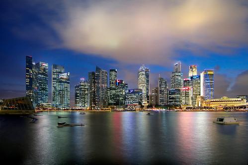 Singapore Skyline (2013)