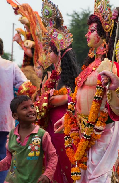 Dura Puja on the Yamuna-14